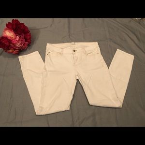 Iro Jeans Off White Jeans Skinny Size 31
